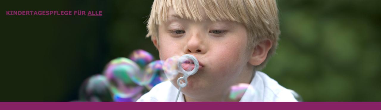 Kindertagespfelge für alle - Inklusion