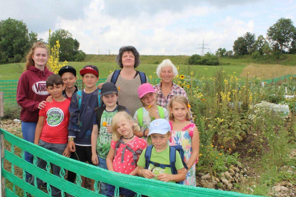 Ausflug zum Sonnenacker mit Traudl Manka- die Kräuterhex aus Landsberg