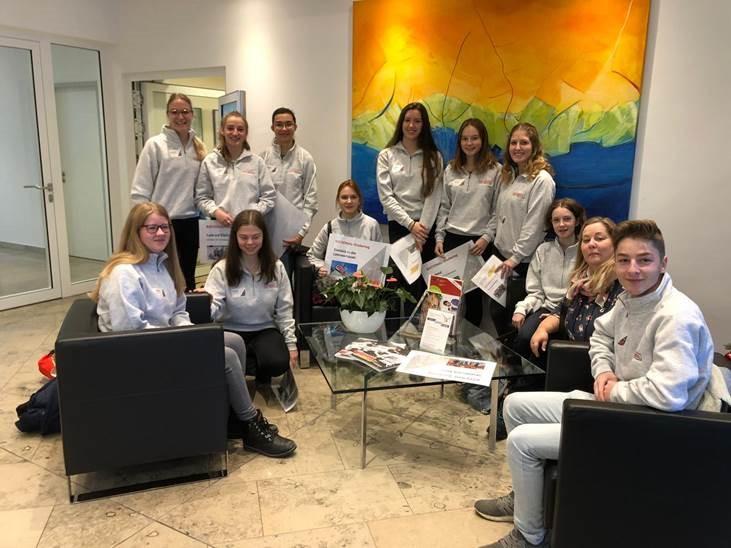 Foto privat / Das Team des Kinderbüros am Familientag der Firma RATIONAL am Buß- und Bettag